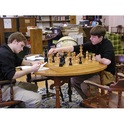 The Hirst Library holds over 20,000 volumes and is part of the network of Southern Minnesota Libraries (including the Mayo Clinic and the University of Minnesota).  Students come to study, research, or just play a quiet game of chess.