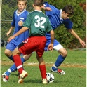 Alumnus of the School, Adam Pistel (Suffield class of 2008) weaves his way through the defense. Adam was recently named to the WNEPSAC All Star Team.