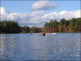 Island Pond covers 39 acres and is used regularly for canoeing, swimming and fishing.