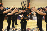 St. John's Military School is proud of their drill team. The drill team competes with various military schools. A lot of time and training goes into the drill team. It is an excellent opportunity for a cadet to become involved in something extra curricular.