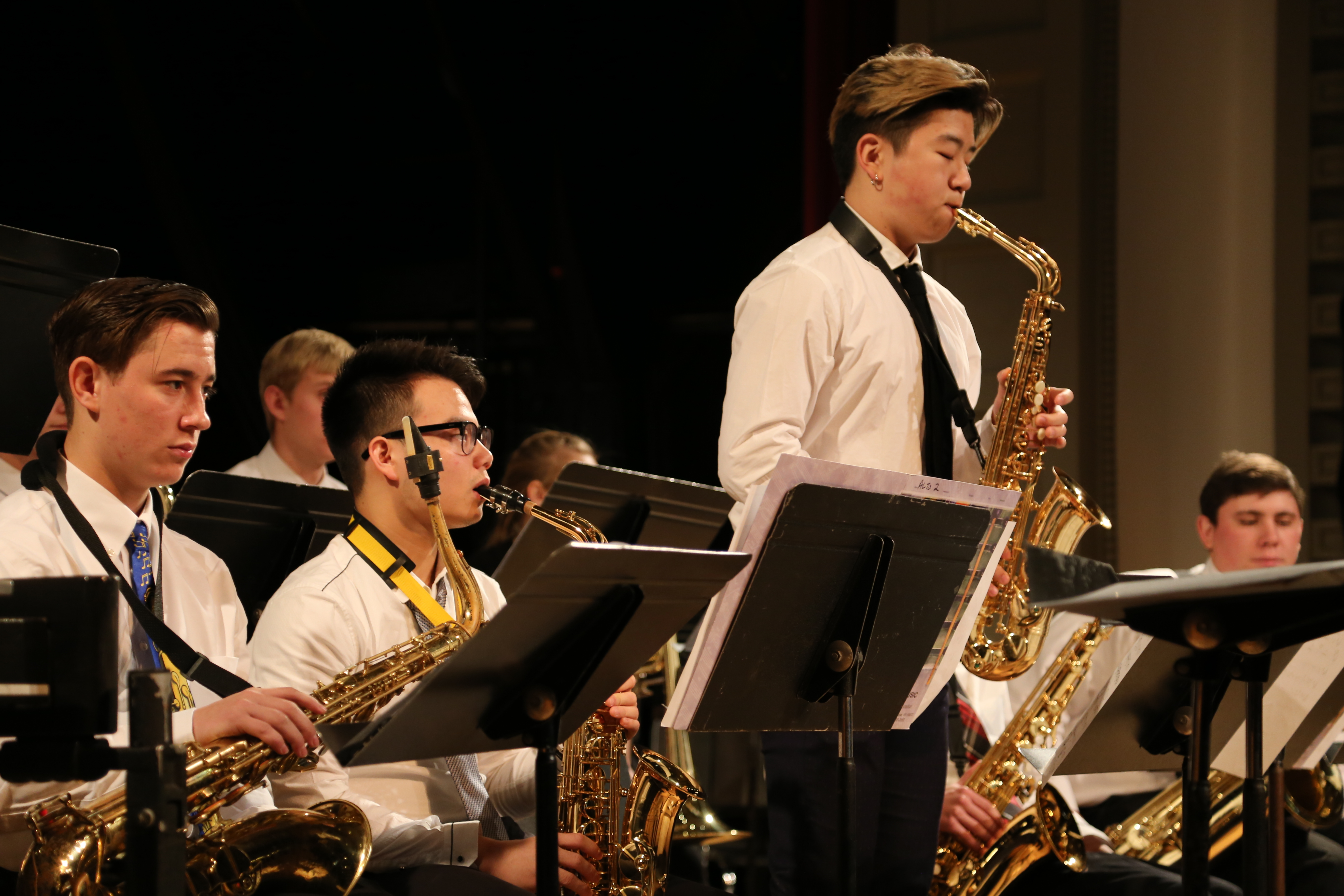 Cotter Schools Photo - Cotter Schools offers a variety of musical offerings: Jazz Band, Concert Band, Show Choir, and Choir. Concerts are performed throughout the school year.