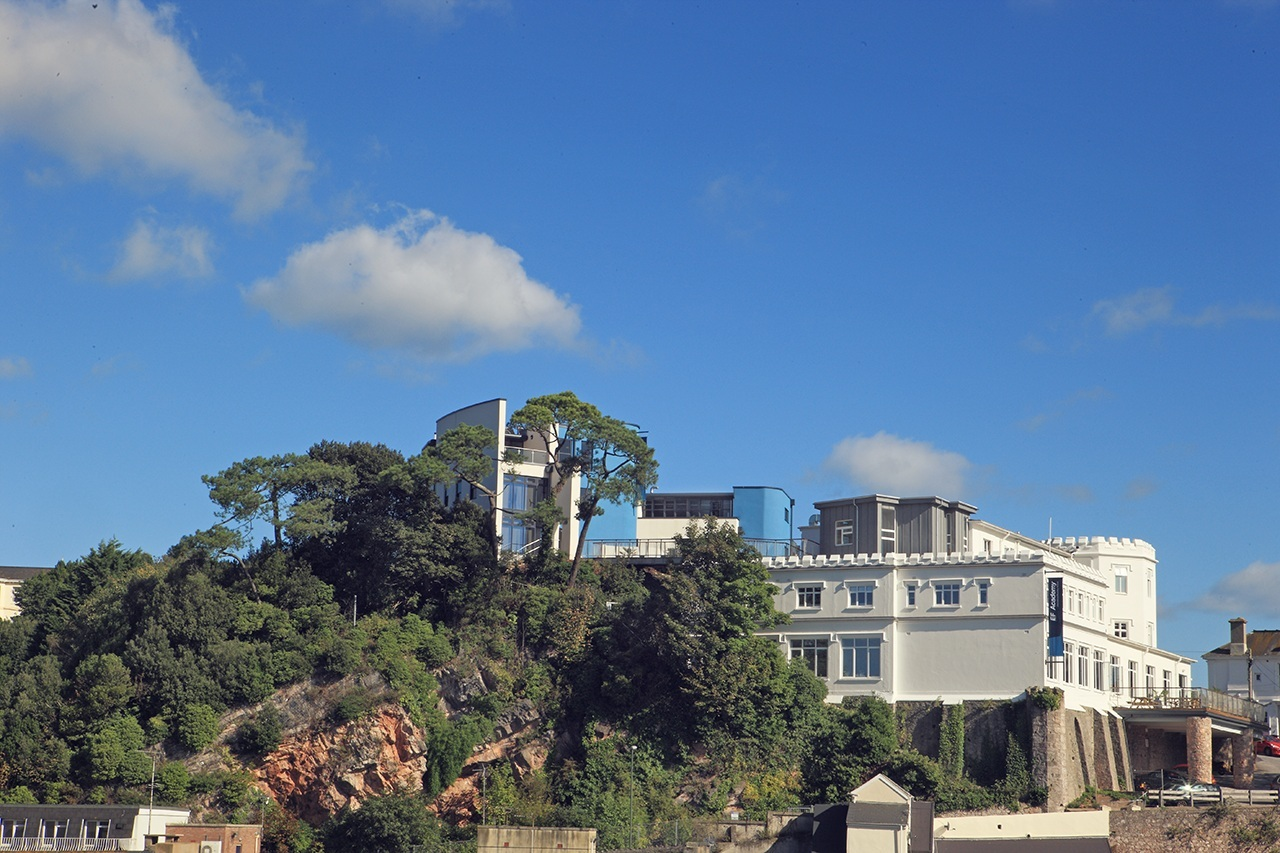 EF Academy Torbay Photo #1 - EF Academy Torbay's campus is situated in a modern-day castle on a hill overlooking the English seaside resort city.
