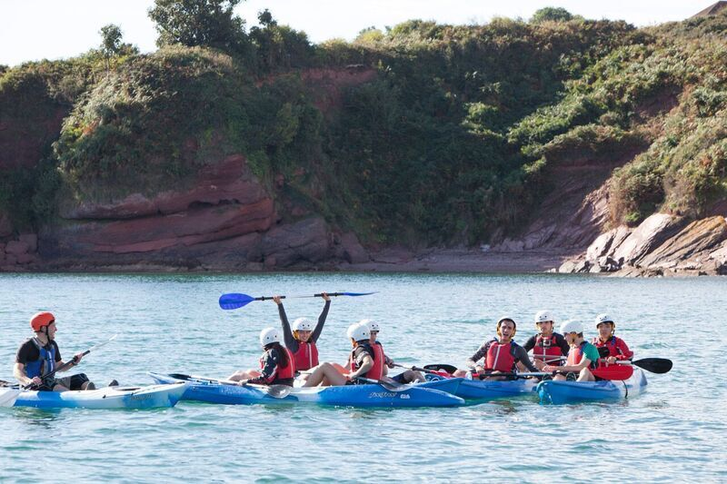 EF Academy Torbay Photo #7 - At EF Academy Torbay, we love to take advantage of our surroundings! Students are welcome to go kayaking and rock climbing.
