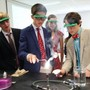 Virginia Episcopal School Photo #9 - Chemistry class with Mr. Hanning