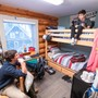 Lake Tahoe Preparatory School Photo #8 - Students reside in adult-supervised dormitories. Due to Covid 19 the students are living in private rooms. Rooms are furnished with beds, dressers/clothing storage, desks & chairs, in-room dormitory refrigerators, and individual combination in-room safes for students to store their valuables. Most dorm rooms include en-suite bathrooms.