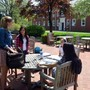 Shady Side Academy Photo #4 - The campus has a number of outdoor spaces that teachers and students use for class, to study or to just enjoy time with friends.